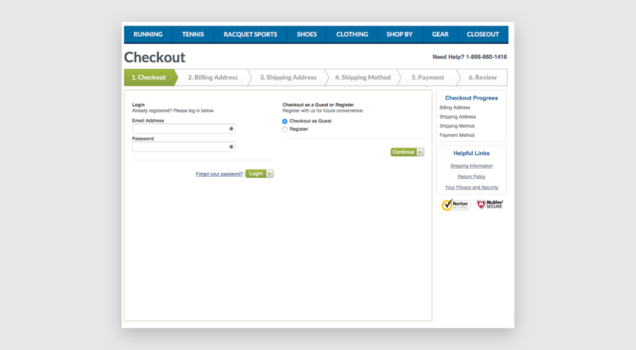 Hola Bird's checkout page