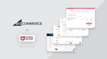How BigCommerce sites use the McAfee SECURE trustmark